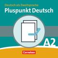 Pluspunkt Deutsch, Ausgabe 2009: Kursbuch + Arbeitsbuch, m. Audio-CD (Lektion 1-14), 2 Tle.; Bd.A2