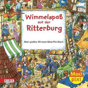 Wimmelspaß auf der Ritterburg