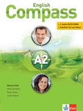 English Compass: Students Book, m. 2 Audio-CD/CD-ROMs u. Extraheft 'Out and About'; Niveau.A2
