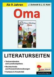 Peter Härtling 'Oma', Literaturseiten