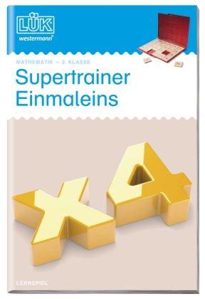LÜK: Supertrainer Einmaleins
