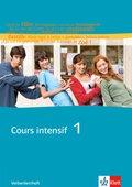 Cours intensif: Verbenlernheft; Bd.1
