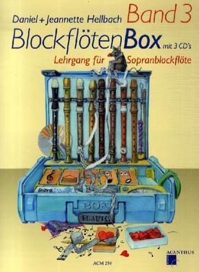 BlockflötenBox, m. 3 Audio-CDs - Bd.3