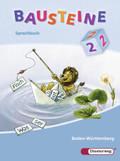Bausteine Sprachbuch, Ausgabe Baden-Württemberg, Neubearbeitung: 2. Schuljahr, Lateinische Ausgangsschrift