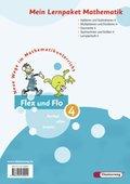 Flex und Flo, Ausgabe 2007: Mein Lernpaket Mathematik, 4 Hefte (Ausleihmaterial); Bd.4