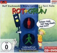 Rot + Grün, 1 CD-Audio + 1 DVD