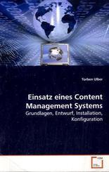 Einsatz eines Content Management Systems (eBook, 15x22x0,5)