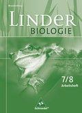Linder Biologie, Ausgabe Brandenburg: 7./8. Schuljahr, Arbeitsheft
