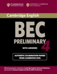 Cambridge BEC, Preliminary 4: Student's Book with Answers