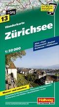 Hallwag Outdoor Map Zürichsee