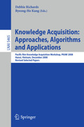 Knowledge Acquisition: Approaches, Algorithms and Applications