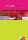 Con gusto: Lösungen zum Lehr-und Arbeitsbuch; Niveau.A1