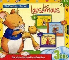 Leo Lausemaus, Einsteiger-Box, 3 Audio-CDs - Folgen.1-3