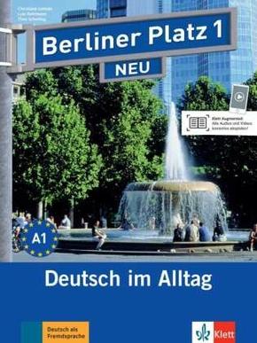 Berliner Platz NEU: Lehr- und Arbeitsbuch, m. 2 Audio-CDs; Bd.1