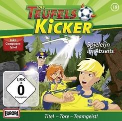 Die Teufelskicker - Spielerin im Abseits!, 1 Audio-CD
