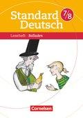 Standard Deutsch: 7./8. Schuljahr, Leseheft Balladen