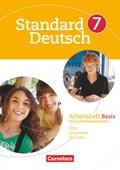 Standard Deutsch: 7. Schuljahr, Arbeitsheft Basis mit Lernstandtests
