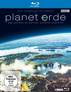 Planet Erde - Die komplette Serie, 5 Blu-ray