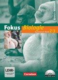 Fokus Biologie, Gymnasium Nordrhein-Westfalen: Schülerbuch, m. DVD-ROM; Bd.2/3