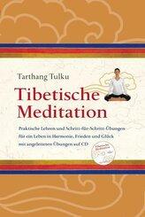 Tibetische Meditation, m. Audio-CD