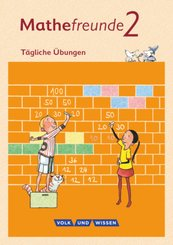 Mathefreunde, Ausgabe Nord/Süd: 2. Schuljahr - Tägliche Übungen
