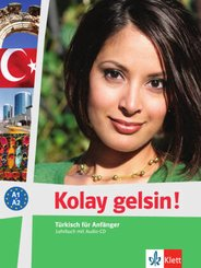 Kolay gelsin! Türkisch für Anfänger: Lehrbuch, m. Audio-CD