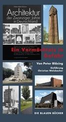 Architektur der Zwanziger Jahre in Deutschland - Ein Vermächtnis in Gefahr