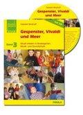 Gespenster, Vivaldi und Meer, m. Audio-CD