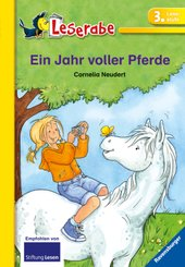 Ein Jahr voller Pferde - Leserabe 3. Klasse - Erstlesebuch ab 8 Jahren