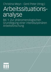 Arbeitssituationsanalyse - Bd.1