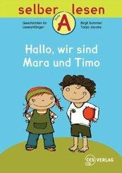 Hallo, wir sind Mara und Timo