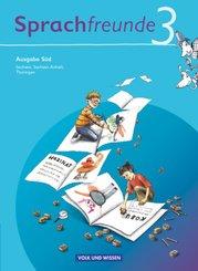 Sprachfreunde, Ausgabe Süd (2010): 3. Schuljahr, Sprachbuch