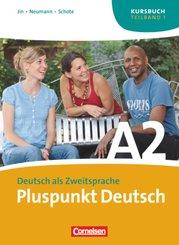 Pluspunkt Deutsch, Ausgabe 2009: Kursbuch (Lektion 1-7); Bd.A2/1