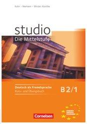studio d, Die Mittelstufe: Studio: Die Mittelstufe - Deutsch als Fremdsprache - B2: Band 1; Band 9
