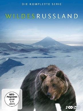 Wildes Russland, 2 DVDs