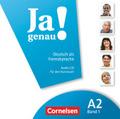 Ja genau! - Deutsch als Fremdsprache: 1 Audio-CD für den Kursraum; Bd.A2/1