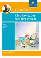 Kirsten Boie 'King-Kong, das Geheimschwein', Lesebegleitheft