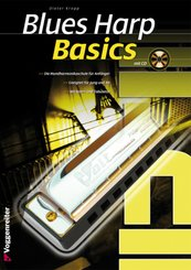 Blues Harp Basics, m. Audio-CD