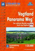 Hikeline Wanderführer Vogtland Panorama Weg
