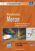 Hikeline Wanderführer Wanderatlas Meran