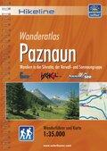 Hikeline Wanderführer Wanderatlas Paznaun