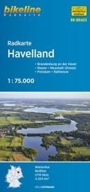Bikeline Radkarte Havelland