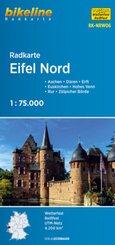Bikeline Radkarte Eifel Nord
