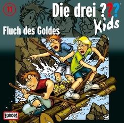Die drei ???-Kids - Fluch des Goldes, 1 Audio-CD
