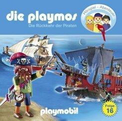 Die Playmos - Die Rückkehr der Piraten, 1 Audio-CD