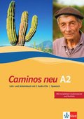Caminos neu: Lehr- und Arbeitsbuch A2, m. 3 Audio-CDs; Tl.2