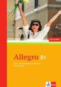 Allegro, Neue Ausgabe: Lehr- und Arbeitsbuch B1, m. Audio-CD
