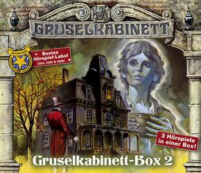 Gruselkabinett-Box 2, 3 Audio-CDs - Box.2