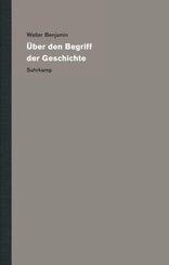 Werke und Nachlaß. Kritische Gesamtausgabe: Über den Begriff der Geschichte; Bd.19