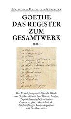 Sämtliche Werke, Briefe, Tagebücher und Gespräche: Register und Gesamtinhaltsverzeichnis, 2 Bde.; 1. Abteilung / 2. Abteilung; 40/1+2